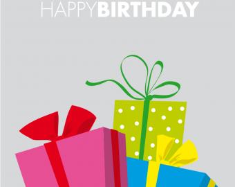 Individuelles Geschenk zum Geburtstag