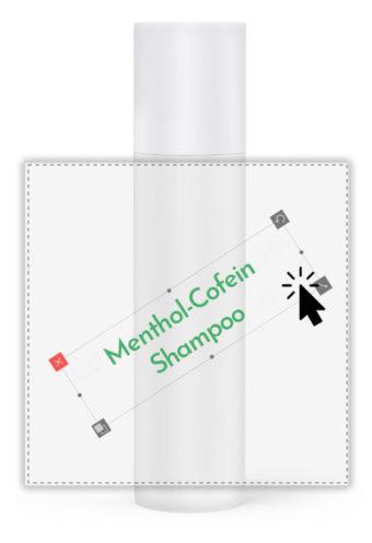 Menthol-Koffein-Shampoo