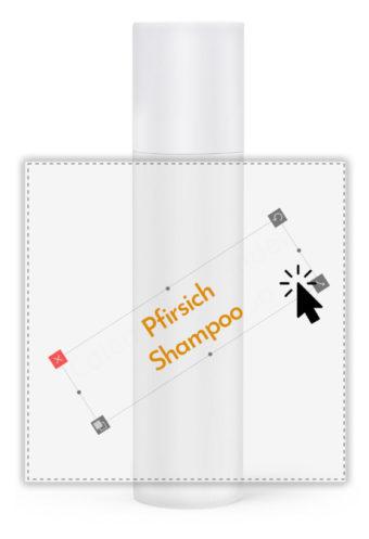 Pfirsich-Shampoo